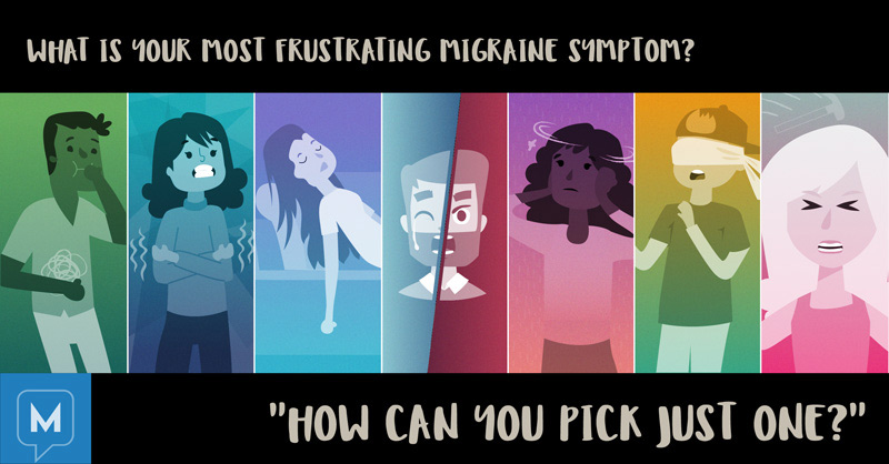 Frustrating migraine symptoms