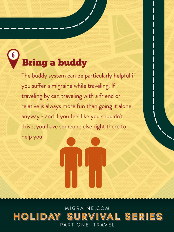 Migraine.com holiday suvival guide: travel