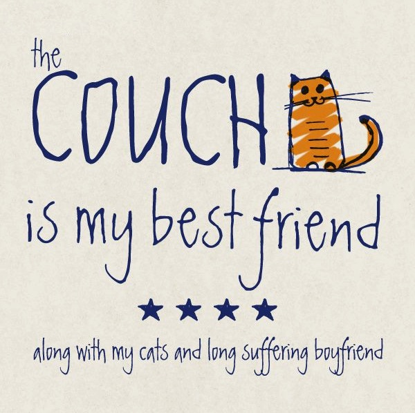couch as best friend