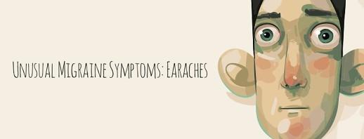 Unusual Migraine Symptoms: Earaches, Ear Pain image