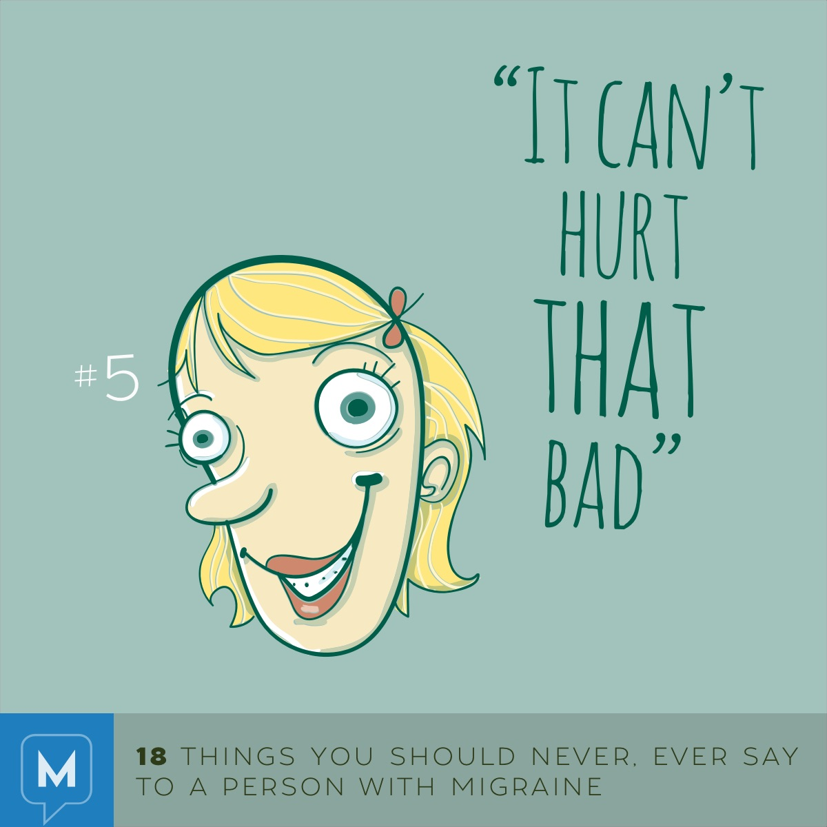 18 things not to say to a person with migraine | migraine