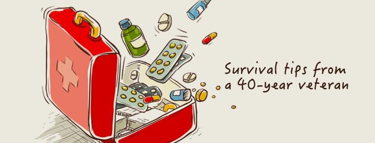 Survival tips from a 40-year migraine veteran