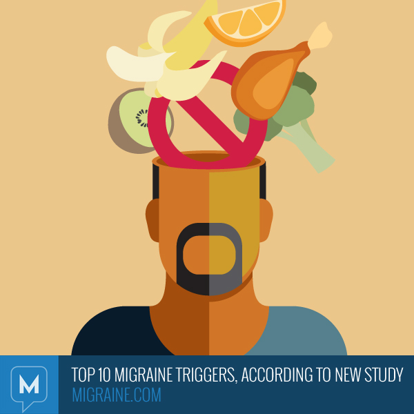 Top migraine triggers according to a new study migraine com