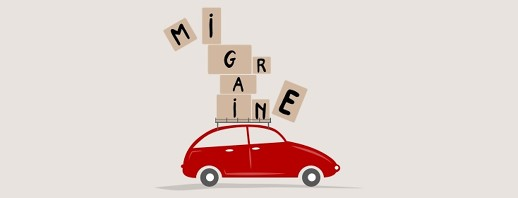 Driving under the influence of migraine image