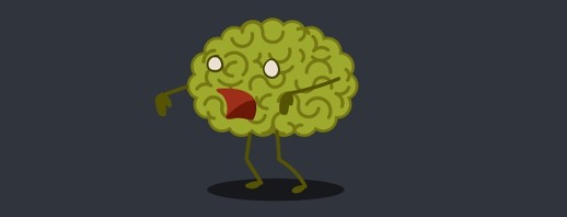 Completely Unofficial, Made-Up Migraine Types: The Zombie image