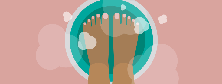 Will Soaking Your Feet in Hot Water Relieve a Migraine? image