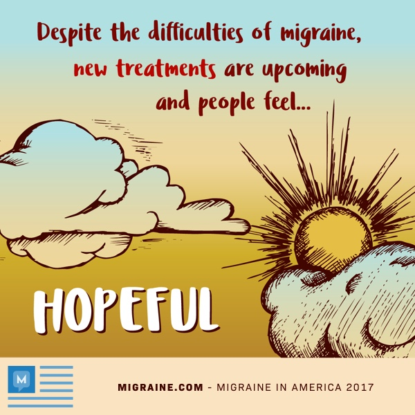 hopeful for new migraine treatments