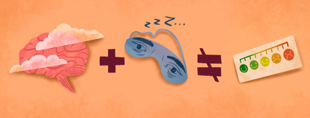 Brain fog plus fatigue eye mask does not equal pain.